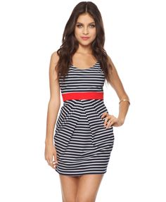 Striped Knit Dress | FOREVER21 - 2081258017 $8.99--this is on my must-get list!