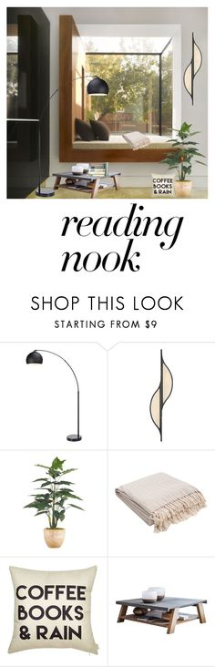 """""""Untitled #887"""" by nene55 ❤ liked on Polyvore featuring interior, interiors, interior design, home, home decor, interior decorating, Nook, Kelly Wearstler and Jaipur"""