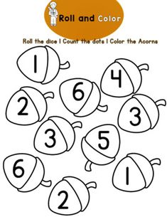 Tot School, Back To School, Letter Find, Dotted Page, Do A Dot, Fall Back, Matching Cards, School Themes, Acorn
