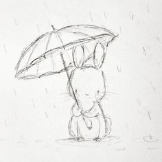 En Abril, aguas mil... Por lo menos, aquí, se está cumpliendo ☔ #childrensillustration #artsy #watercolor #rabbit #illustration #watercolour #myartwork #bunny #myart #animals #aidazamora #cuteanimals #rain #acuarela #childrensbook #spring #drawing #handpainted #nurseryart #april #ilustracioninfantil #sketchbook #draw #sketch #cute #instaart #art_we_inspire #artoftheday #sketches #art