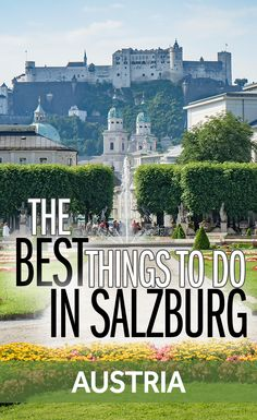 Salzburg is one of the most beautiful cities in Austria. There's so much to do so I've put together this list of the best things to see in Salzburg. I've also got some great tips on how you can save lots of money when you visit Salzburg.