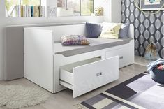 Rozkladcia posteľ so zásuvkami Bergen cm Bergen, Bench, Storage, Furniture, Home Decor, Living Area, Purse Storage, Decoration Home, Room Decor