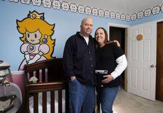 A 'Super Mario World' nursery