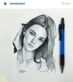 Kendall Jenner | drawing