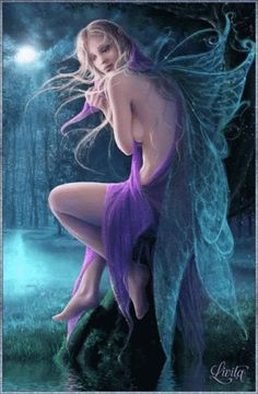 Image shared by Nancy Gale. Find images and videos about beautiful, gif and fantasy on We Heart It - the app to get lost in what you love. Fantasy Art Women, Beautiful Fantasy Art, Beautiful Fairies, Fantasy Girl, Foto Fantasy, Fantasy Kunst, Chica Fantasy, Elfen Fantasy, Fairy Pictures