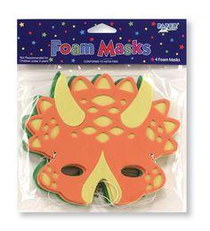 Diggin' For Dinos Masks, Foam - 24 per case