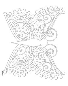 Don't Eat the Paste: Butterfly coloring pages