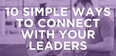 This is not out-of-the-box thinking as much as it is a quick reference to a handful of ways I connect with my leaders. When I care for my leaders in these ways, I am doing three things: Trying to l...