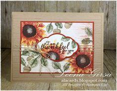 A La Cards: Thankful Sunflowers