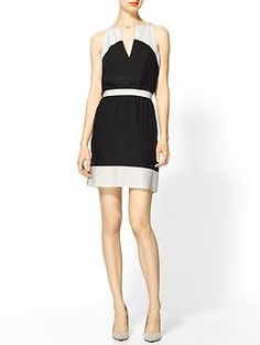 Parker Colorblock Keyhole Dress | Piperlime