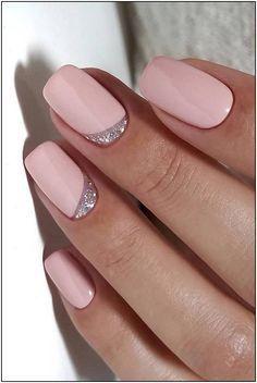 Wedding Manicure, Wedding Nails Design, Pink Wedding Nails, Wedding Makeup, Wedding Beauty, Wedding Designs, Wedding Colors, Pink Nails, Gel Nails
