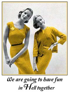 retro funny....... I always say this!! Yes we are!