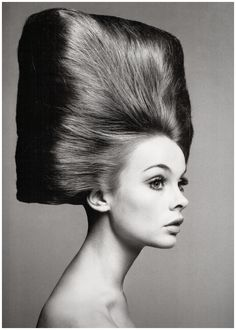 Jean Shrimpton is shot by Richard Avedon for Vogue US in the August, 1965