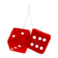 Zone Tech Black Fabric Hanging Dice Pair Products Pinterest