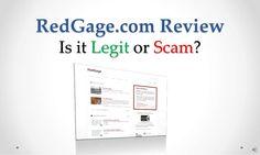 red-gage-com-review-legit-or-scam by Sandeep Iyengar via Slideshare