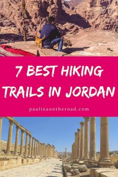 Are you planning to go hiking in Jordan? I got you covered with this travel guide with the best hiking trails in Jordan, Middle East. The Middle East might not be the first hiking travel destination in your mind, however Jordan boasts numerous walking trails that make it a great place to visit for hiking holidays. This hiking guide incl. Petra hiking trail, Wadi Mujib trail and some hidden gems. Hiking in Jordan | Jordan Hikes | #jordanhikingtrails #walkingjordan #middleasttravel