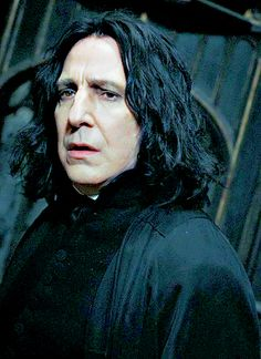 """""""Sectumsempra""""- Alan Rickman as Severus Snape in the Harry Potter series of films."""