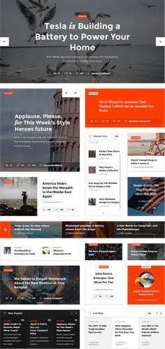 UI Kit on Behance Have a look at most authoritative, up-to-date news and headlines belonging t Web Design Trends, News Web Design, Web Design Quotes, Modern Web Design, Web News, Creative Web Design, Web Design Tutorials, Web Design Company, App Design
