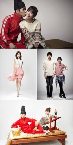 They make such a cute couple - From Rooftop Prince My Secret Hotel, Oh My Ghostess, Emergency Couple, Korean Tv Shows, Han Ji Min, Half Korean, My Love From Another Star, Park Yoo Chun, Asian Fever