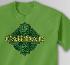 Personalized Celtic Cross shirts