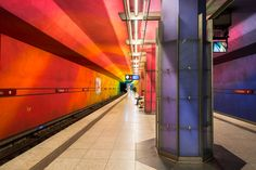Munich, Candidplatz waiting U Bahn by alierturk.deviantart.com on @deviantART