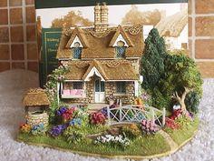 Lilliput Lane Wishing Well Flower Bells Anniversary Special Edition   eBay