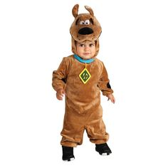 Baby Scooby Doo Costume, Infant Boy's, Size: 12-18MONTH, Brown