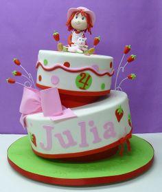 Strawberry Shortcake!!! Girls Birthday Cake, love it!