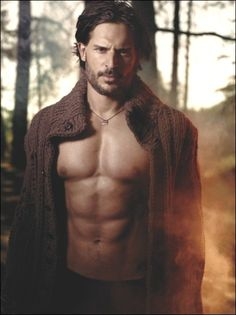 Alcide.....oh how I love true blood