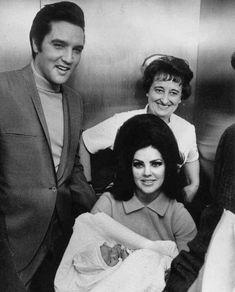Elvis never left — Elvis with baby Lisa Marie