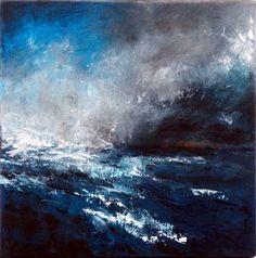 mixed media on canvas 'homeward' SOLD by ashar