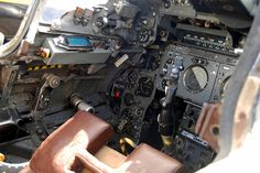 EE Lightning Cockpit Detail, Newark Air Museum.