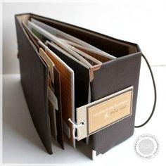 mini album by Mini Albums Scrap, Mini Scrapbook Albums, Baby Scrapbook, Scrapbook Paper Crafts, Art Journal Tutorial, Baby Album, Album Book, Handmade Books, Smash Book