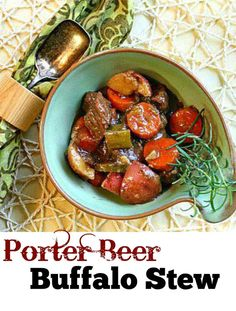 Goodbye to my old stew recipe. Porter beer flavor reminds one of a good quality strong coffee mixed with a bite of dark berry. And serves as a great platform for a robust bowl of stew.  A great recipe from a great Boulder brew beer company.