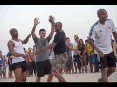 Mundial Brasil 2014: Exjugadores se divierten en Ipanema (FOTOS)