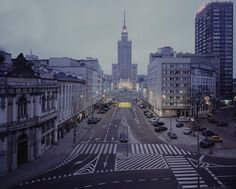 Warsaw  by Szymon Roginski Places To See, Places To Travel, Poland Cities, Outdoor Travel, The Dreamers, New York Skyline, Around The Worlds, Street View, Architecture