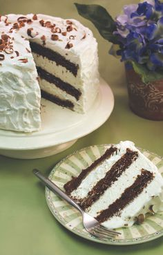 This Swiss Chocolate Cake recipe is from the Cook'n recipe organizer recipe collection Swiss Chocolate Cake Recipe, Chocolate Cake Icing, Hershey Chocolate Cakes, Chocolate Desserts, Delicious Cake Recipes, Yummy Cakes, Dessert Recipes, Candy Recipes, Dessert Ideas