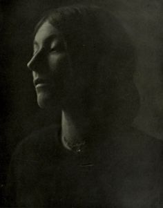 'Portrait' by Clarence H. White (New York).