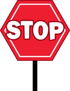 printable stop sign stick on foam cut out and glue on stick at the rh pinterest com stop sign clip art black and white stop sign clipart