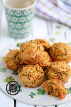 Carrot Muffins, Creative Food, Family Meals, Carrots, Bakery, Food And Drink, Snacks, Cookies, Healthy