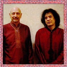 Ustad Zakir Hossain and Great Steve Smith ...