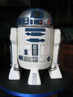 R2D2 Groom's Cake, Oh My! REPIN FOR GLOBEMED!