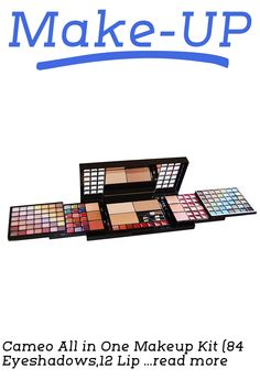Set Contains: 84 Eyeshadows,12 Lip Glosses,6 Blushes,1 Lip Liner Pencil,4 Applicators,26 Lip Colors,6 Body Glitters,3 Pressed Powders,1 Eyeliner Pencil,1 Brush This functional palette is perfect for the makeup artist in you. With so much makeup to choose from your color combinations will be endless.