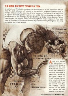 MUSCLE GAINS: Arnold Schwarzenegger   010 - The Mind, The Most P...