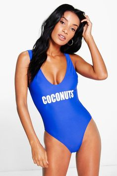 bcc2d2ae39a6 Boohoo Bride To Be Swimsuit With Metallic Lettering | Beach Graphic |  Swimsuits, Bride, Fashion