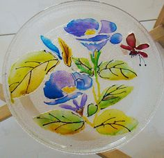 FAB HOBBY IDEAS: 7) Glass Painting : the fun paints