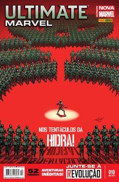 LIGA HQ - COMIC SHOP ULTIMATE MARVEL (NOVA MARVEL) #10 PARA OS NOSSOS HERÓIS NÃO HÁ DISTÂNCIA!!!