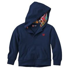 $13.60 Chaps Solid Hoodie - Toddler