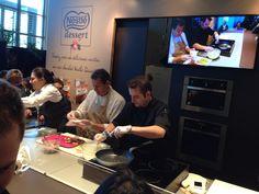 Cooking exhibits Salon du Chocolat Paris 2013
