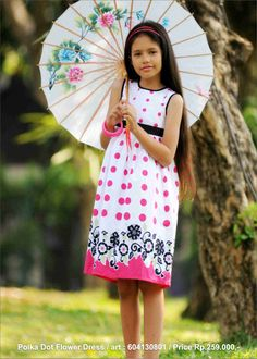 borderly polka dot dress